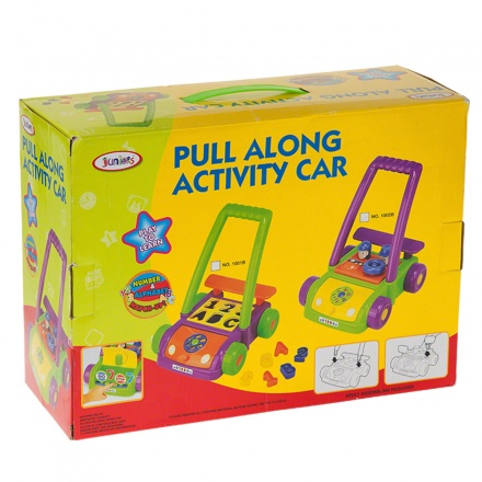 Juniors Pull Along Activity Car