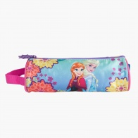 Frozen Beautiful Sisters Round Pencil Bag with Strap