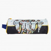 Real Madrid Round Pencil Case with Strap