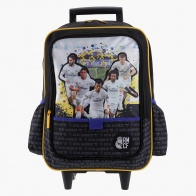 Real Madrid Printed Roller Backpack
