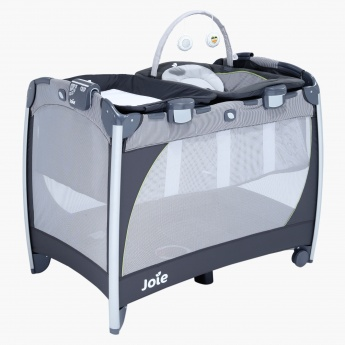 Playard Excursion Change and Bounce Travel Cot