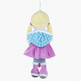 Juniors Rag Doll with Polka Dots
