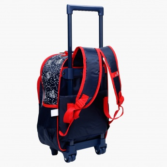 Transformers Printed Trolley Bag with Two Wheels
