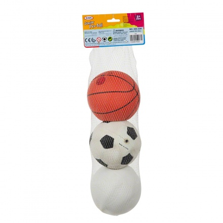 Juniors 3-piece Ball Set