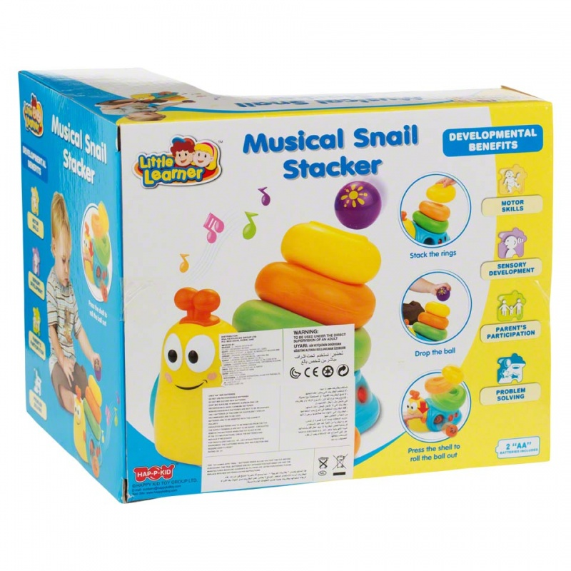 Happy Kid Musical Snail Stacker