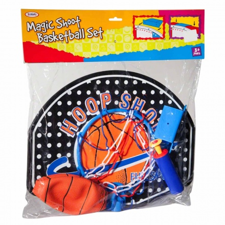 Juniors Magic Shoot Basketball Set
