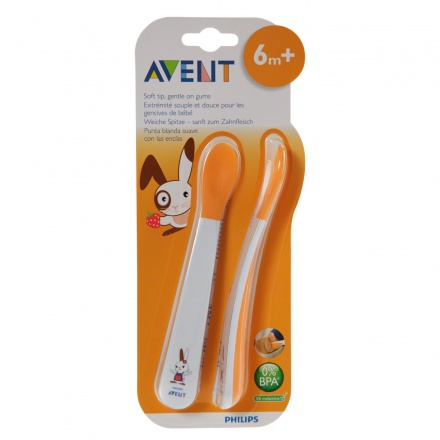 Avent Weaning Spoons - Pack of 2
