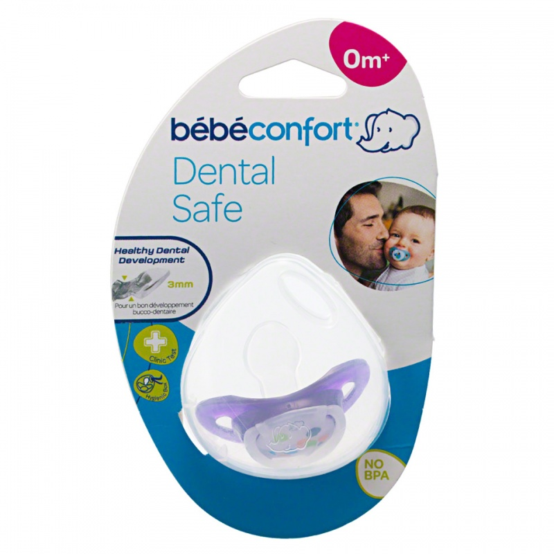 Bebeconfort Dental Safe Silicone Soother with Case