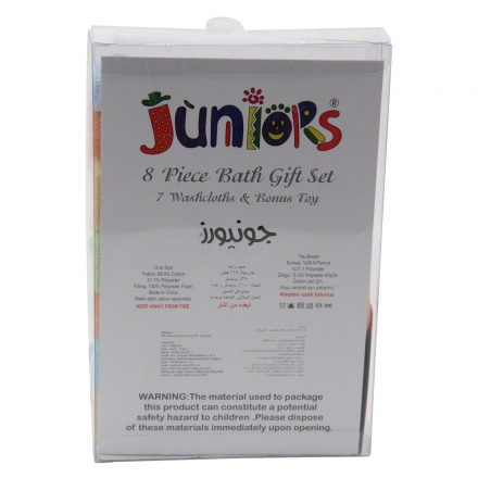 Juniors Wash Cloth