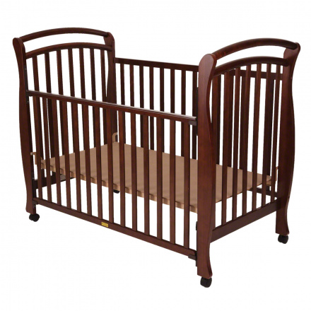 Push Solid Colour Crib