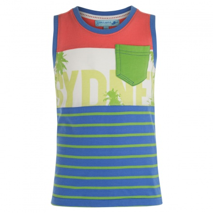 Juniors Sleeveless T-shirt