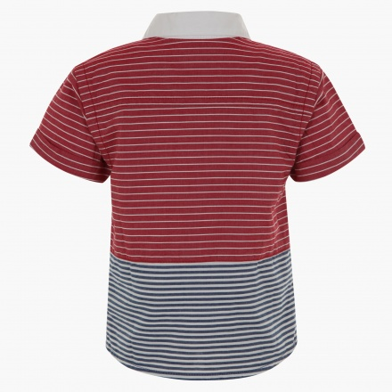 Juniors Striped Shirt