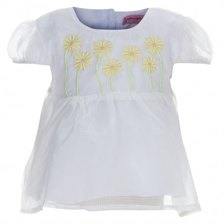 Juniors Embroidered Top