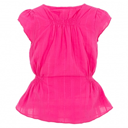 Juniors Dobby Blouse with Bow