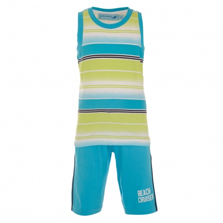 Juniors 3-piece T-shirt and Shorts Set