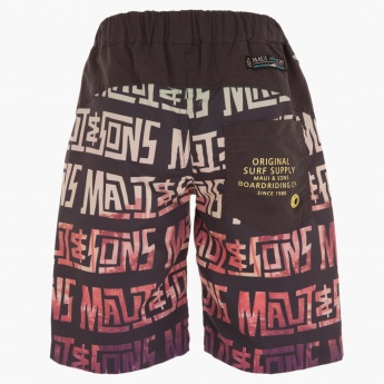 Maui & Sons Printed Shorts