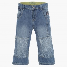 Maui and Sons Printed Denim Pants