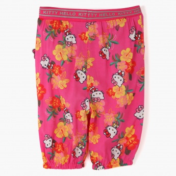 Hello Kitty Printed Pants