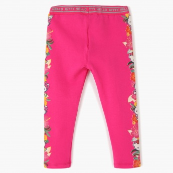 Hello Kitty Printed Jeggings