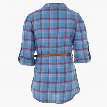 Lee Cooper Chequered Tunic