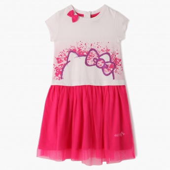 Hello Kitty Printed Dress