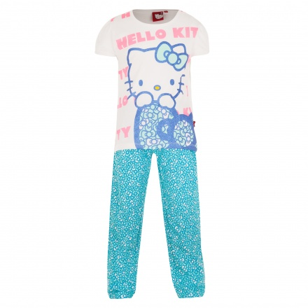 Hello Kitty Printed T-shirt and Pants Set