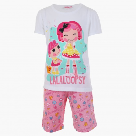 Lalaloopsy Printed T-shirt and Shorts Set