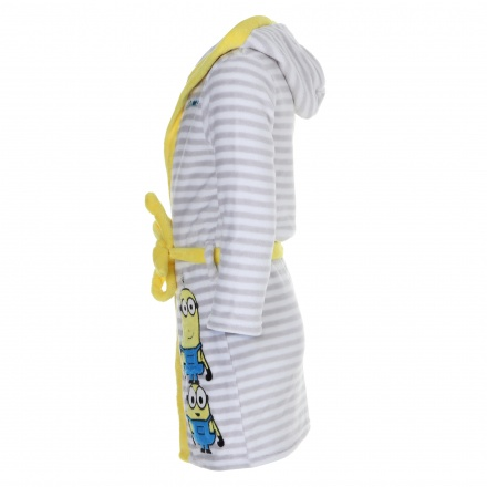 Minions Printed Bathrobe