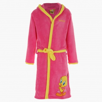 Tweety Hooded Bathrobe
