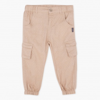Giggles Textured Cuff Pants