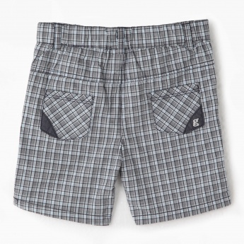 Giggles Chequered Shorts