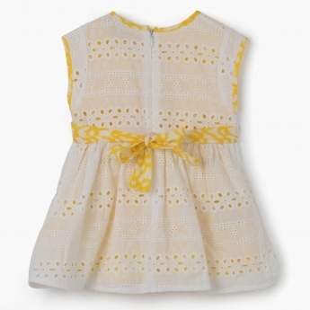 Juniors Dual-Tone Dress