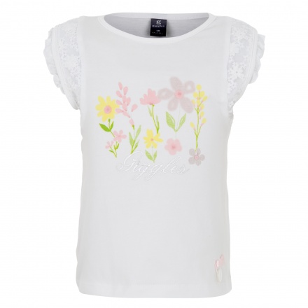 Giggles Floral Print T-shirt