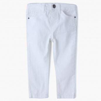 Juniors Stone Wash Jeans