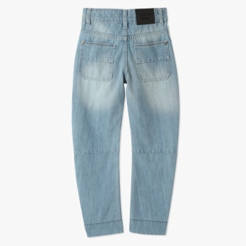 Juniors Full Length Denim Pants