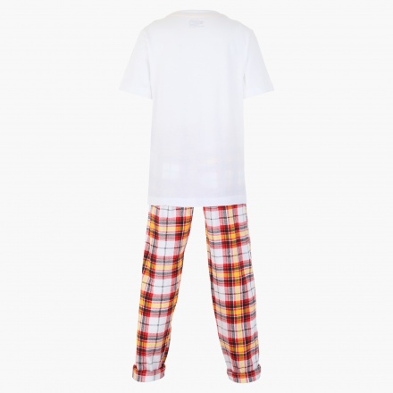 Hot Wheels Printed T-shirt and Pants Set