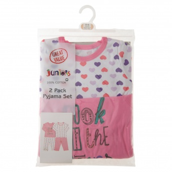 Juniors Pyjama and T-shirt - Set of 2