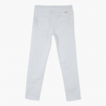 Eligo Full Length Pants with Buttoned Closure