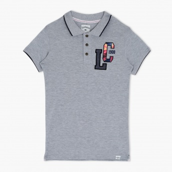 Lee Cooper Polo Neck Short Sleeves T-Shirt