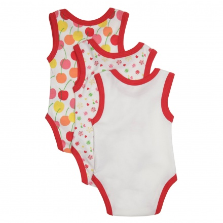 Juniors Printed Romper - Set of 3