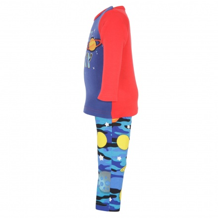 Juniors Galaxy Printed Pyjama Set