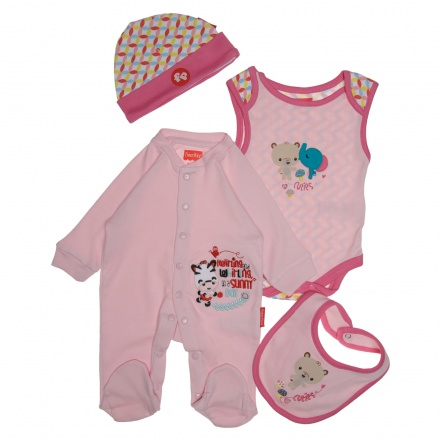 Fisher Price Baby Apparel Set